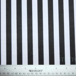 "Black & White Stripes (1/2"" inch) - small 246x246 - Black & White Stripes (1/2″ inch)"