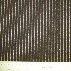 Black/ Gold Stripe Glitter